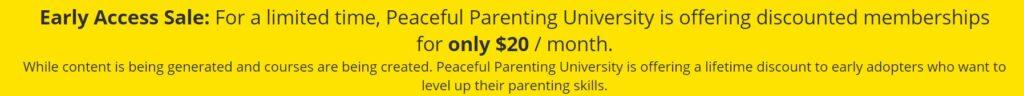 Peaceful Parenting University